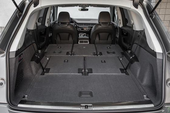 Audi Q7 : le coffre
