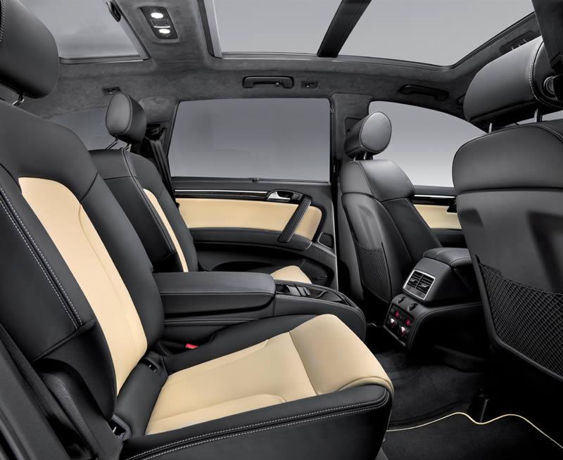 Audi Q7 : toit panoramique