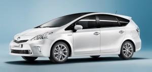 Toyoya Prius + avec 7 places