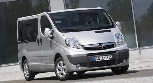 opel zafira et vivaro voiture 7 places. Black Bedroom Furniture Sets. Home Design Ideas